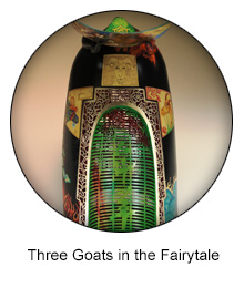 three goats in the fairytale